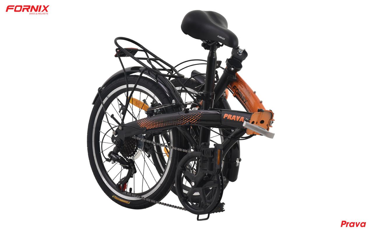 xe đạp gấp fornix prava gấp lại